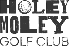 Holey Moley Logo in black